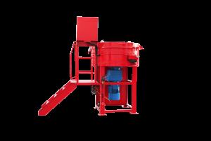 refractory material shotcreting machine