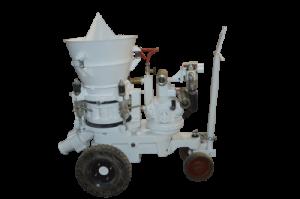 refractory and concrete shotcrete gunite machine