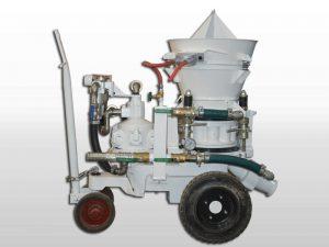 refractory gunite machine
